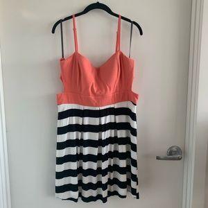 Material Girl cut out mini dress